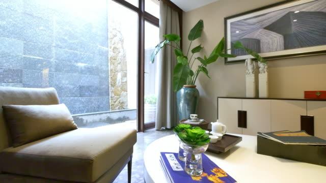 interior of modern living room 4k