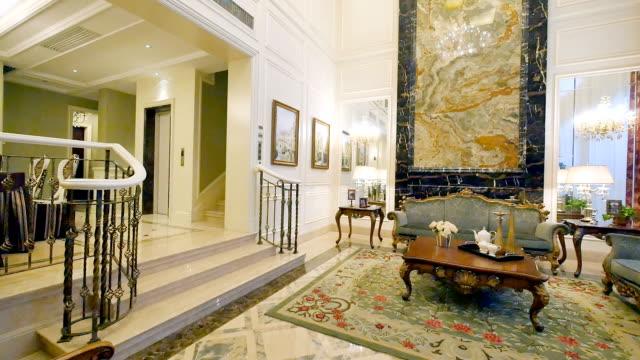 interieur van moderne woonkamer