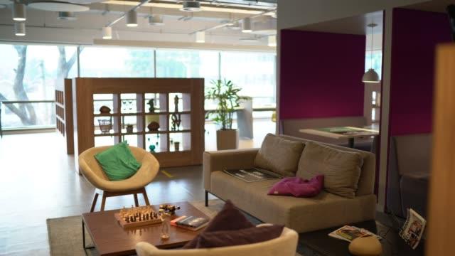 interior of modern office empty - elegance stock videos & royalty-free footage
