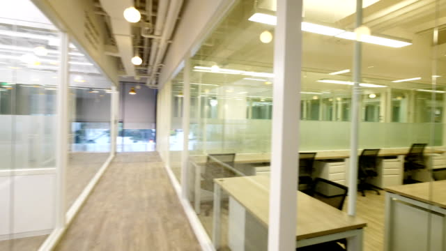 interior of modern office - office chair stock videos & royalty-free footage