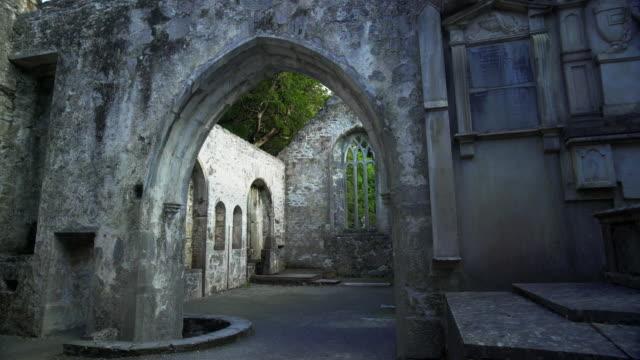 Interior Of Muckross Abbey In Killarney National Park Tilt Up