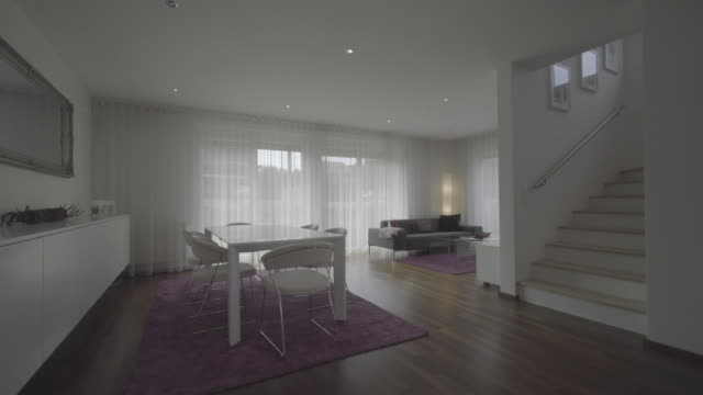interior of new row house