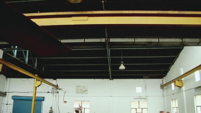 ms td interior of plastic factory, supreme plastics / ghaziabad, uttar pradesh, india - abandoned stock videos and b-roll footage