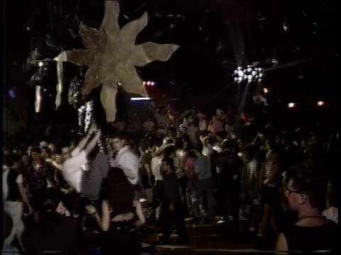 interior of roxy nightclub in nyc - roxy nyc stock videos & royalty-free footage