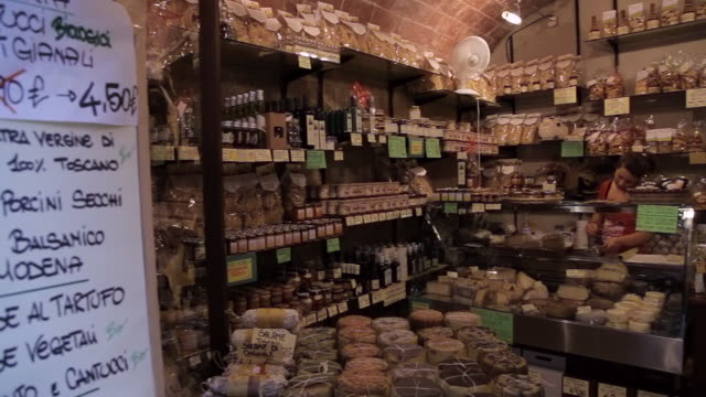 MH PAN Interior of Small Grocery Store / Tuscany, Italy