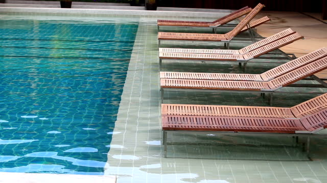 interior of swimming pool outdoor
