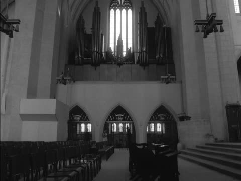 interior of the newly built guildford cathedral - guildford stock videos and b-roll footage