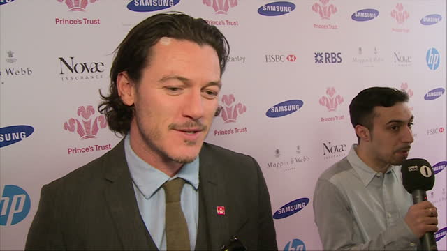 interior shot luke evans being interviewed about being an ambassador for the prince's trust. on march 12, 2014 in london, england. - ambassador stock videos & royalty-free footage