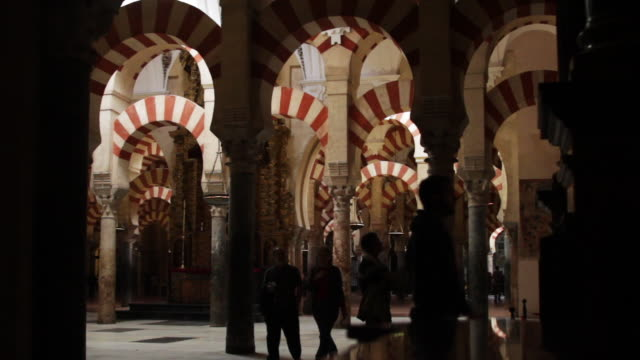 Interior shot of 'Mezquitacatedral de Cordoba' a UNESCO World Heritage Site
