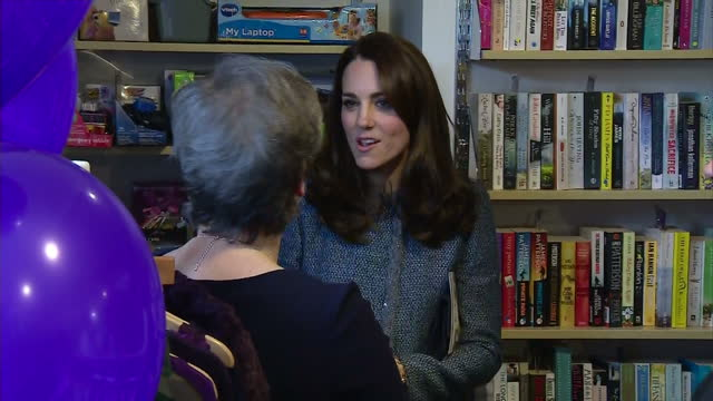 Interior shots Catherine Duchess Of Cambridge opens a new EACH Charity Shop on March 18 2016 in Holt Norfolk