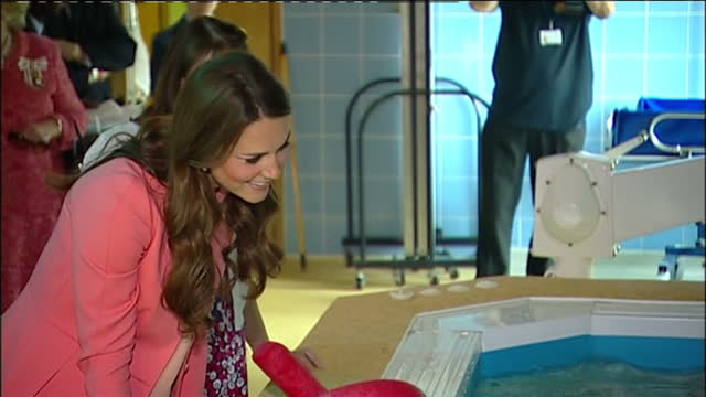 interior shots catherine, duchess of cambridge talks with mother in hydro-therapy pool the duchess of cambridge visit naomi house children's hospice,... - spa treatment stock videos & royalty-free footage