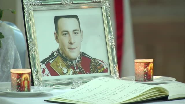 interior shots church service in st peter the apostle church in greenwich for drummer lee rigby greenwich church service for drummer lee rigby on may... - apostle stock videos and b-roll footage