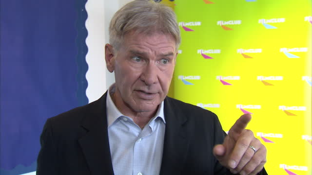 interior shots harrison ford actor talks about ender's game he says he loves his work and the film serves a useful social purpose the cast of ender's... - game of chance stock videos & royalty-free footage