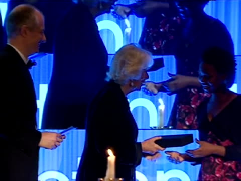 interior shots hrh camilla duchess of cornwall presents noviolet bulawayo author of we need new names an award at the man booker prize eleanor catton... - man booker prize stock videos & royalty-free footage