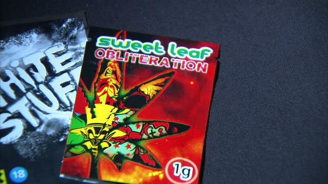 Interior shots Legal Highs Legal Intoxicant Legal drugs on August 31 2015 in London England