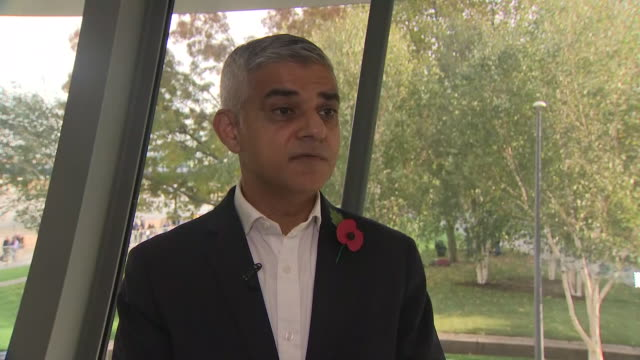 interior shots of an interview with mayor of london, sadiq khan regarding the grenfell phase 1 inquiry report on 30 october 2019 at the fire fighter... - phase image stock videos & royalty-free footage