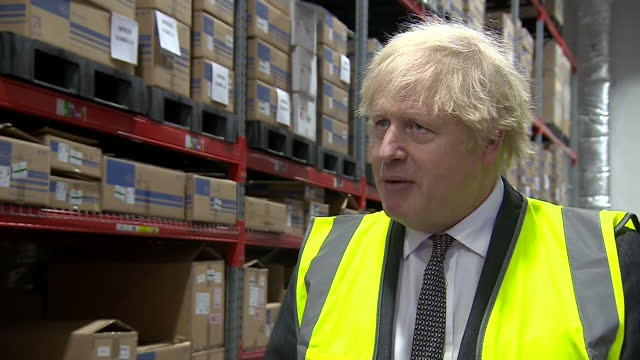 """GBR: Boris Johnson promised that vaccinations were the way out of lockdown, with a 24-7 programme """"coming soon""""."""