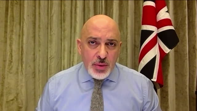 GBR: Interview with Vaccine Minister Nadhim Zahawi roadmap out of lockdown