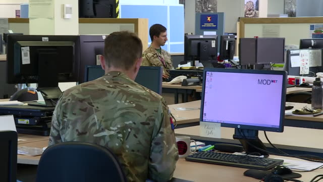 GBR: UK: British Army soldiers who were called up to help with the coronavirus epidemic will be stood done in the next couple of days.