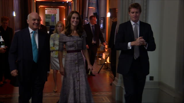 interior shots of catherine duchess of cambridge inspecting a new photography exhibition at the victoria and albert museum on 10 october 2018 in... - victoria and albert museum london stock videos & royalty-free footage
