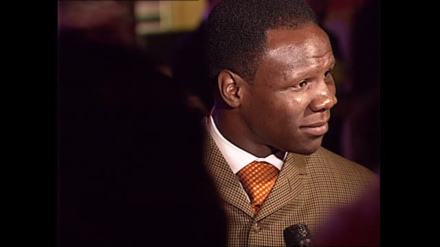 interior shots of chris eubank at planet hollywood on 28th may 1998 in london, england. - chris eubank sr. stock videos & royalty-free footage
