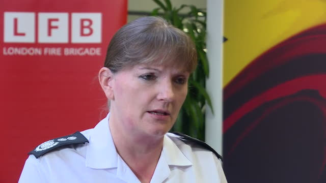 interior shots of commissioner of the london fire brigade dany cotton answering questions on grenfell tower fire response criticism during the... - asking stock videos & royalty-free footage