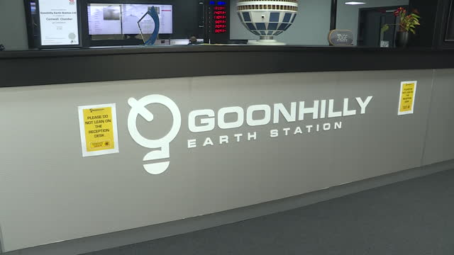 interior shots of control room at goonhilly satellite earth station on 9th june 2021 london, united kingdom. - astronomy stock videos & royalty-free footage