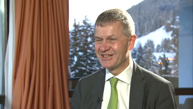 interior shots of erik solheim, executive director un environment programme talking about the damage plastic pollution is causing to the environment... - executive director stock videos & royalty-free footage