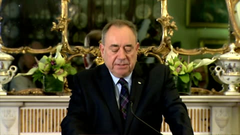 interior shots of first minister alex salmond speaking about the scottish referendum result. on september 19, 2014 in edinburgh, scotland. - 2014 stock videos & royalty-free footage