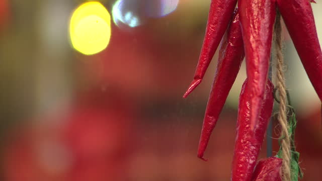 interior shots of hot sauce shot, books on hot sauce and hanging chilli on 30th december 2020 in bristol, united kingdom. - spice stock videos & royalty-free footage