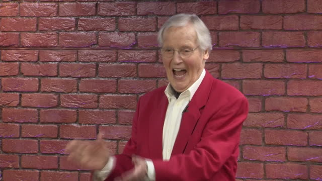 interior shots of nicholas parsons at edinburgh festival on 10 august 2017 in edinburgh, scotland. - nicholas parsons stock videos & royalty-free footage