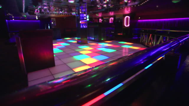 interior shots of nightclub disco floor and disco ball on 5 september 2020 in bristol, united kingdom - disco dancing stock videos & royalty-free footage