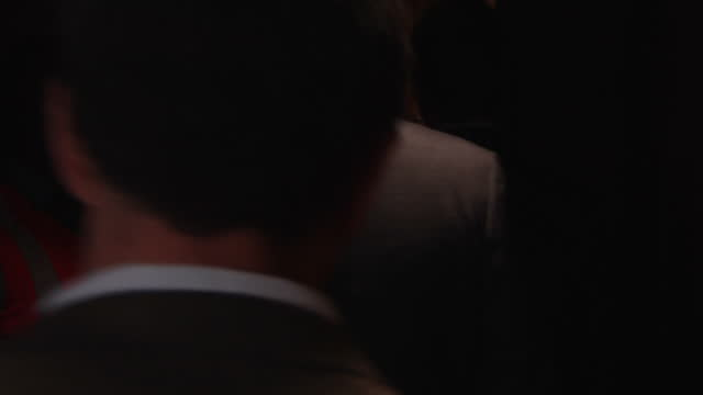 interior shots of oscar pistorius flanked by security walking down corridor and into court on april 09 2014 in pretoria south africa - リーバ・スティンカンプ点の映像素材/bロール