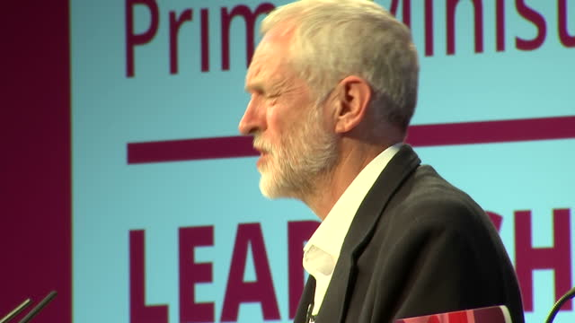 interior shots of owen smith mp and jeremy corbyn leader of the labour party on august 18 2016 in solihull birmingham england - owen smith politician stock videos & royalty-free footage