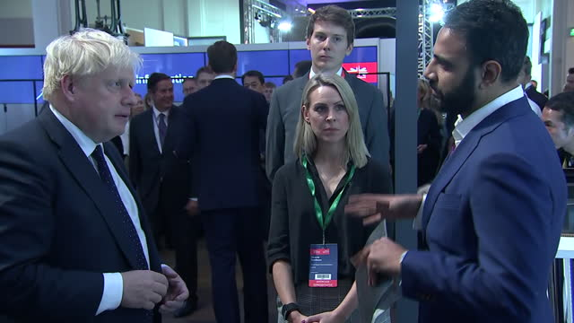 GBR: PM Boris Johnson hosts the Global Investment Summit at the Science Museum