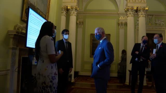 GBR: Prince Charles and Camilla, Duchess of Cornwall, visiting the Bank of England