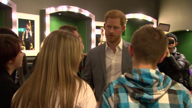 GBR: Prince Harry attends the OnSide Youth Zones awards, which aim to recognise the achievements of young people, volunteers and staff at the UK charity.