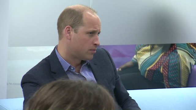 interior shots of prince william, duke of cambridge, speaking to young people during a visit to the albert kennedy trust to learn about the issue of... - youth organisation stock videos & royalty-free footage