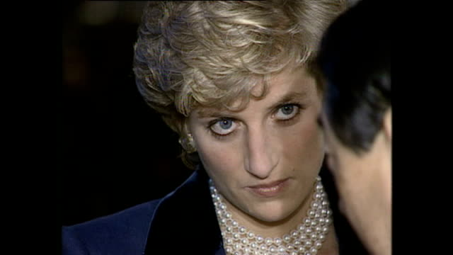 stockvideo's en b-roll-footage met interior shots of princess diana princess of wales arriving at the red cross headquarters during royal tour on 8 february 1995 tokyo japan - 1995