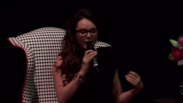 interior shots of sarah brightman speaking at a news conference about the physical and psychological tests and training she has to go through in... - sarah brightman stock videos & royalty-free footage