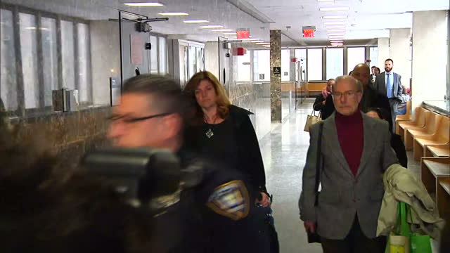 interior shots of steve patz, the father of etan patz, who disappeared in 1979, walking into courtroom during the murder trial of pedro hernandez on... - missing people stock videos & royalty-free footage
