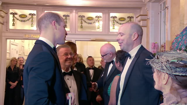 GBR: The Duke and Duchess of Cambridge attend the Royal Variety Performance at the Palladium Theatre in London.