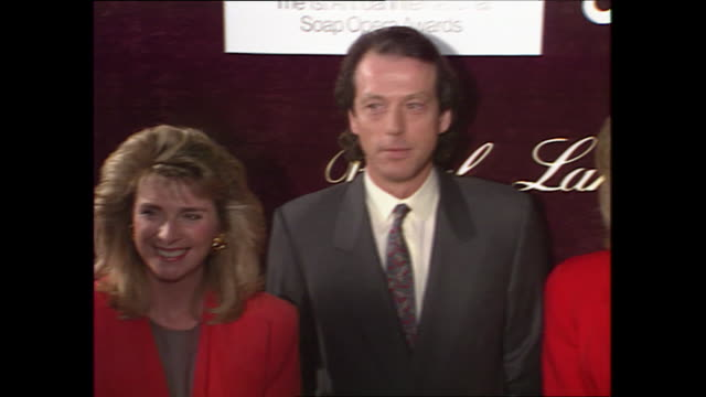 interior shots of the eastenders actor leslie grantham at the first international soap opera awards, with an interview with grantham on his... - soap opera stock videos & royalty-free footage