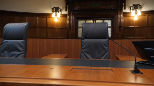 interior shots of the supreme court on 16 september 2019 in london, united kingdom. - supreme court stock videos & royalty-free footage