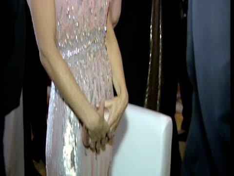 interior shots prince william catherine duchess of cambridge chat with guests at the 10th annual ark gala dinner at perks field kensington palace... - gala stock videos & royalty-free footage