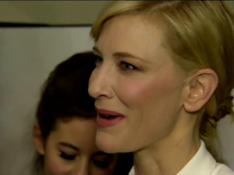 interior shots prince william chats with cate blanchett, sylvester mccoy & martin freeman during the premiere of the hobbit, an unexpected journey... - the hobbit stock videos & royalty-free footage