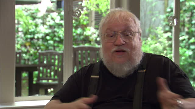 Interior soundbite author George R R Martin speaks about the issue of 'strong female characters' an feminism He says he is fortunate to be able to...