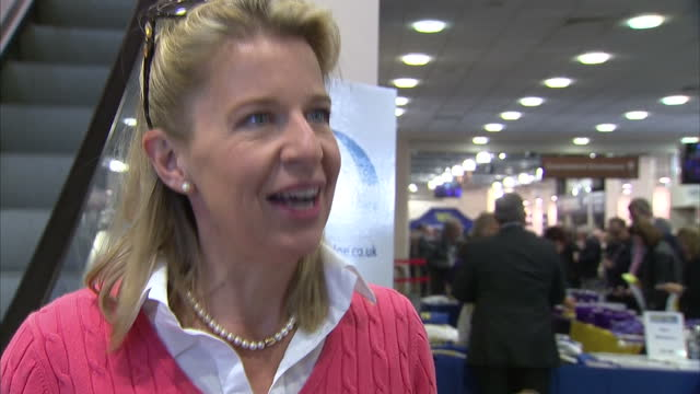 stockvideo's en b-roll-footage met interior soundbite with columnist and presenter katie hopkins speaking about campaigning for electoral reform because she believes it is unfair that... - house of commons