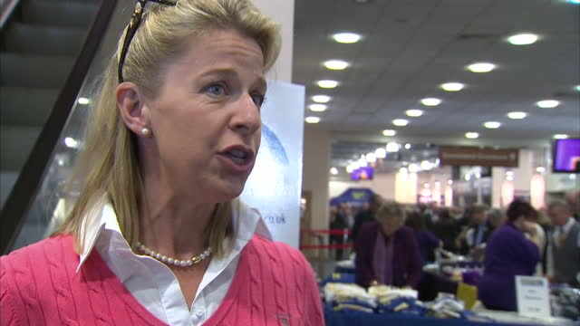 interior soundbite with columnist katie hopkins speaking about being unafraid to voice unpopular opinions about issues such as migration that she... - columnist stock videos & royalty-free footage