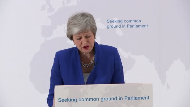 GBR: Theresa May launches latest bid to get her Meaningful Vote on Brexit through the Commons.